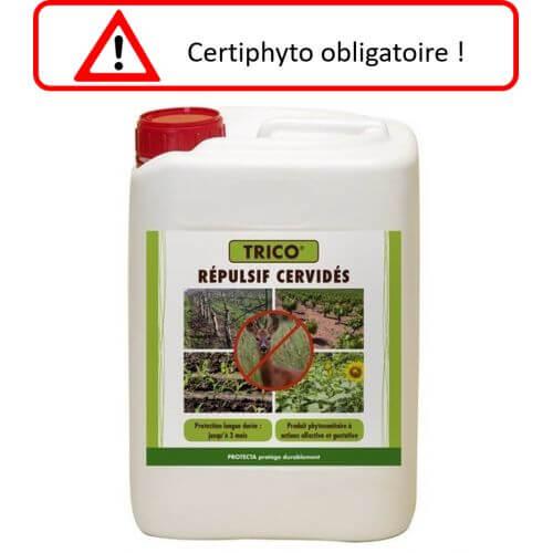 Trico : répulsif chevreuil - 5L